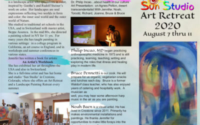 Art Retreat: Aug 7 – 11, 2020